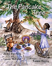 Book cover image, The Pancake Tree